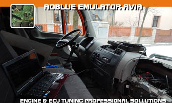 Adblue emulator AVIA - D-Line - vypnutí adblue