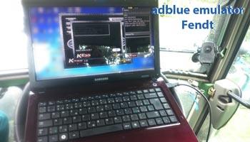 Adblue emulator Fendt - vypnutí adblue