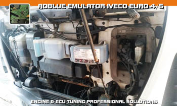 Adblue emulator Iveco - vypnutí adblue