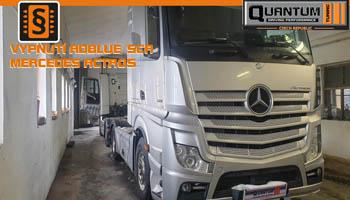 Adblue emulator Mercedes Actros