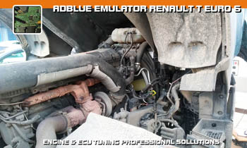 Adblue emulator Volvo FH EEV - vypnutí adblue