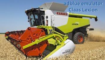 Vypnutí Adblue - SCR - NOX Claas Lexion